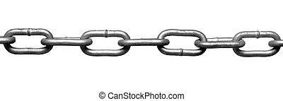 chaîne, connexion, esclavage, strenght, lien