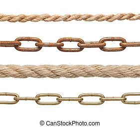 chaîne, corde, connexion, esclavage, strenght, lien