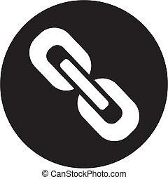 chaîne, icône