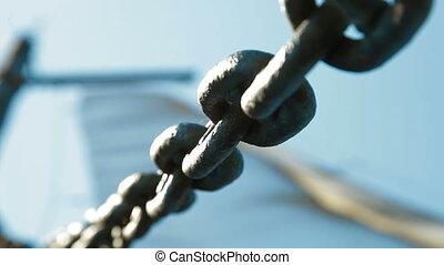 chaîne relie
