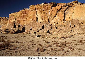 Chaco Culture Pueblo