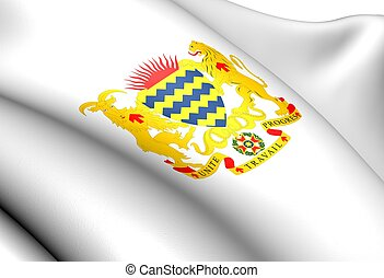Chad Coat of Arms. Close Up.