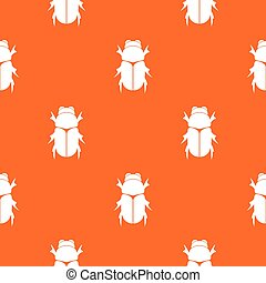 Chafer beetle pattern seamless - Chafer beetle pattern...