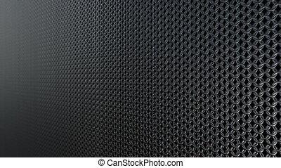 Chain armor metallic pattern background loop - Chain armor...