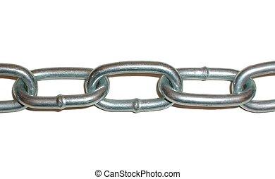Chain - chain on white background