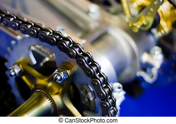 Chain drive - roller chain and sprocket - Chain drive -...