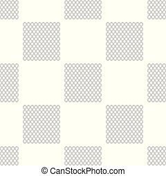 Chain Fence icon seamless pattern on white background....