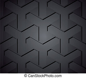 Chain fence isolated against on metal. Vector