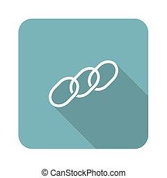 Chain icon, square