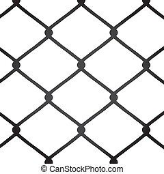 Chain Link Fence - A chain link fence texture that tiles...