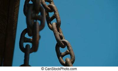 Chain Links - Rusty Chain Links