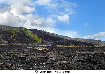 Chain of Craters Road on Big Island