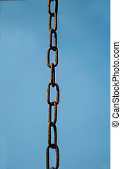 chain on the background of sky