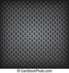 Chain Seamless Pattern. Vector Background.