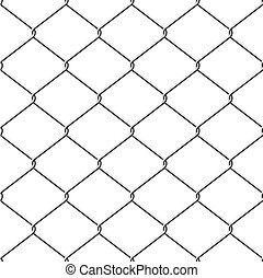 chainlink clôture, fond, seamless