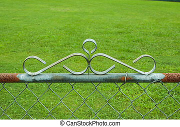 chainlink fence hardware