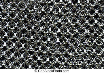 Chainmail Background  - Chainmail Background