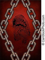 Chains and fingerprint
