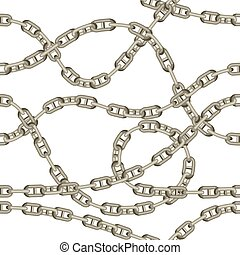 chains., model, seamless, oud