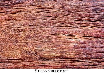 chainsaw., taglio, struttura, legname