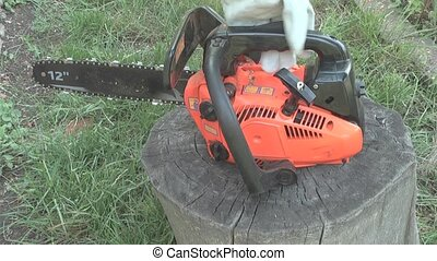 chainsaw training to work