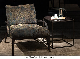 Chair and Coffee Table