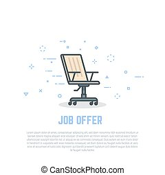 Chair and job offer