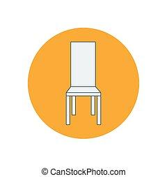 Chair armchair illustration