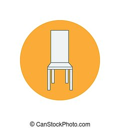 Chair armchair illustration
