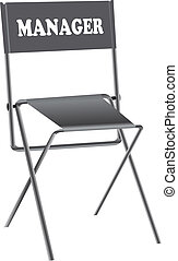 Chair for manager - A special place for a manager with an...
