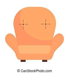 chair icon cartoon