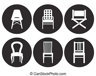 Chair Icons Set