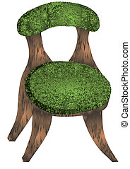 chair., illustration