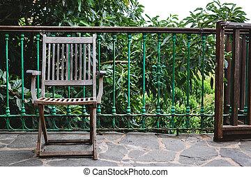 Chair in a rural house