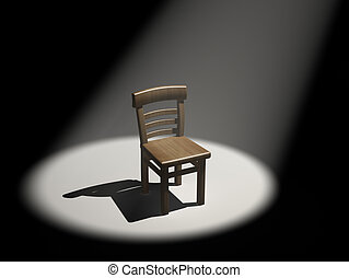 Chair in the limelight