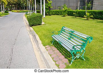 chair in the park