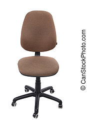 Chair isolated on a white background.