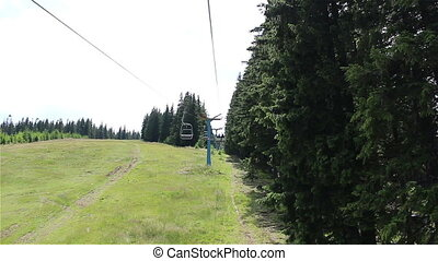 Chair Lift Travelling View