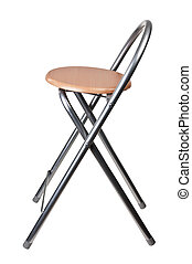 chair modern isolaetd on white background