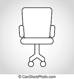 chair office design, vector illustration eps10 graphic
