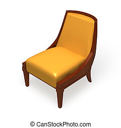 Chair on a white background