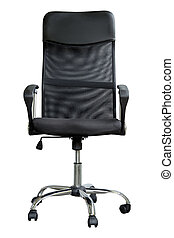 Chair on isolate white with clipping path