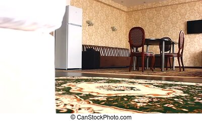 chair room Interior with chairs and carpets beautiful luxury...