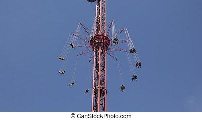 Chair Swing Amusement Park Ride