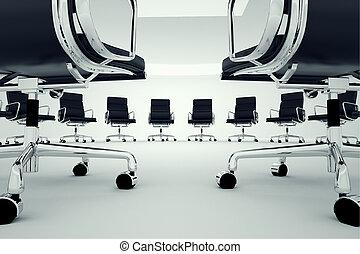 chairs., オフィス