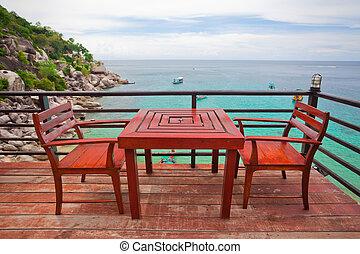 restaurant near the sea