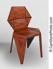 chaise bois, desinger