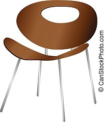 chaise bois, moderne