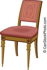 chaise, bois