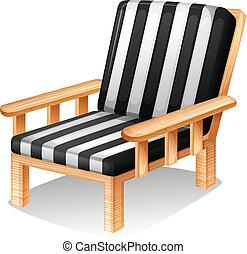chaise, délassant